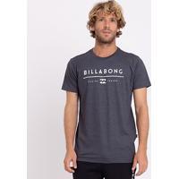 Camiseta Billabong Unity Masculina - Masculino-Cinza