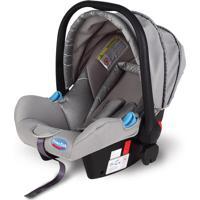 Bebê Conforto Prime Baby Elite 0 - 13Kg Prata Com Cinza