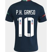 Netshoes  Camisa Fluminense Iii 19 20 P.H. Ganso N° 10 - Torcedor Under  Armour Masculina a72369b7a00aa