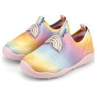 Tênis Infantil Bibi Fisioflex Tecido Rainbow