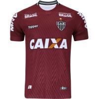 Camisa De Goleiro Do Atlético-Mg Ii 2018 Topper - Masculina - Vinho 211f4343828ed