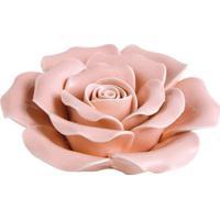 Flor Decorativa- Rosa Claro- 3Xø10Cm- Martmart