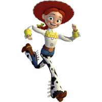 Adesivos De Parede Roommates Colorido Toy Story Jessie Giant Peel & Stick Wall Decal