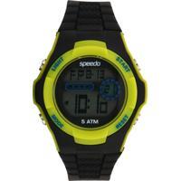 Relógio Speedo 81121G0Evnp1 Preto/Verde