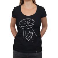 Abdução - Camiseta Clássica Feminina