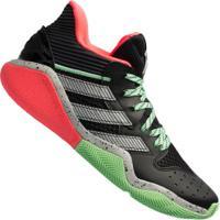 Tênis Adidas Harden Stepback - Masculino - Preto/Verde Cla