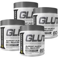 4X Glutamina Cellucor (300G) - Cellucor - Unissex