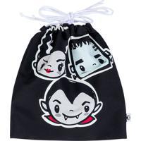 Bolsa Infantil Estampada Little Monsters