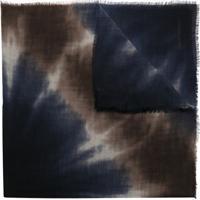 Emporio Armani Lenço Com Efeito Tie Dye - Estampado