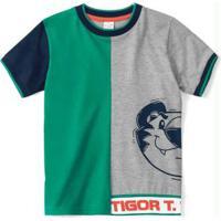 Camiseta Cinza Menino