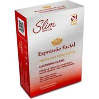 Henna Para Sobrancelhas Expressão Facial Slim Castanho Claro - Feminino-Incolor