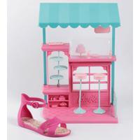 Sandália Infantil Barbie Brinde Grendene Kids 21921