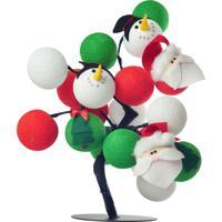 Árvore De Luz De Natal São Nicolau Cormilu Verde