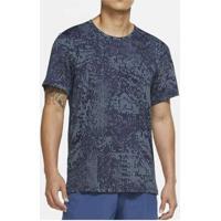 Camiseta Nike Dry Masculina Azul