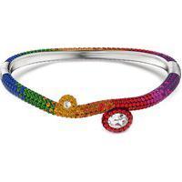 Bracelete Tigris Multicolorido Em Metal - Ródio