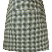 A.P.C. Floral Mini Skirt - Azul
