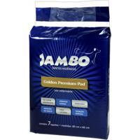 Tapete Higiênico Jambo Golden Premium Pad - 30 Unidades Tapete Higiênico Jambo Golden Premium Pad - 7 Unidades
