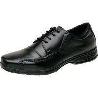 Sapato Social Conforto Mr Shoes Couro 5070 Preto