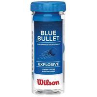 Kit Bolas Frescobol Wilson Blue Bullet