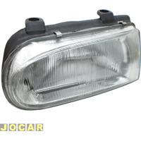 Farol - Alternativo - Rcd / Inovway - Gol 1995 Até 1999 - H4-Encaixe Cibié - Lado Do Motorista - Cada (Unidade) - Fv345Rv