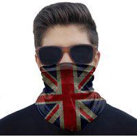 Máscara Bandana Reino Unido Uk Proteção Ciclismo Pesca Moto
