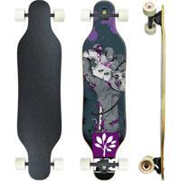 Skate Longboard Speed9 Montado Profissional Pgs - Nintendo