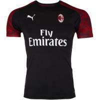 Camisa De Treino Milan 19/20 Puma - Masculina - Preto