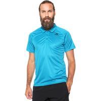 Camisa Polo Adidas Performance D2M Azul