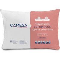 Travesseiro Cotton Plus Suporte Extra-Firme 50Cm X 70Cm Camesa