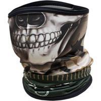 Bandana Ou Buff King Brasil Com Proteção Uv - Army 301 - Unissex-Verde