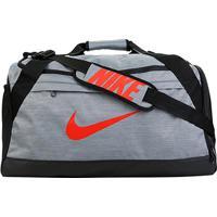 5bf4ced22 ... Mala Nike Brasília Média - Unissex-Chumbo