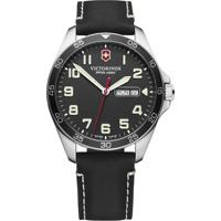 Relógio Victorinox Swiss Army Masculino Couro Preto - 241846