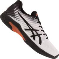 Tênis Asics Gel Solution Speed Ff - Masculino - Branco/Preto