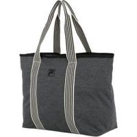 Bolsa Fila Fleece - Feminina - Cinza Escuro