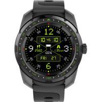 Smartwatch Com Monitoramento Cardíaco Qtouch Câmera Remota Bluetooth