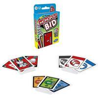 Jogo Monopoly Bid Jogo De Cartas Rápido Hasbro