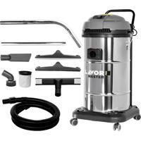 Aspirador De Pó E Líquido Lavor Master 1.65 If 1400W 65 Litros Inox