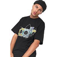 Camiseta Adidas Originals Trefoil Preta