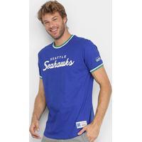 Camiseta Nfl Seattle Seahawks Mitchell & Ness Especial Masculina - Masculino