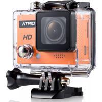 Câmera De Ação Atrio Full Sport Cam Hd Dc186 Laranja