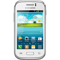 "Smartphone Samsung Galaxy Young Gt-S6310 - 3G - 3Mp - 4Gb - Android 4.1 - Tela 3.2"" - Branco"