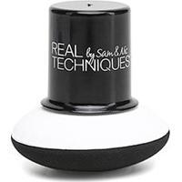 Esponja Expert Para Cushion Real Techniques - Feminino-Branco+Preto