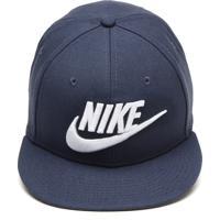 Boné Nike Sportswear Snapback True Futura Azul