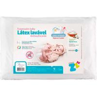 Travesseiro Látex Baby Antissufocante Fibrasca Z4891