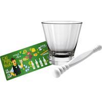 Kit Caipirinha Bartender 3 Peças - Euro Home - Branco