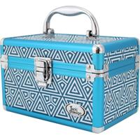 Maleta Jacki Design Divisórias Azul