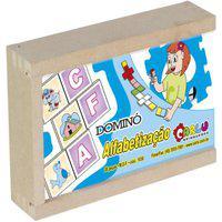 Dominó Alfabetização - Carlu - Brinquedo Educativo