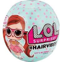 Boneca Lol Surprise Hair Vibes Com Acessórios - Unissex-Colorido