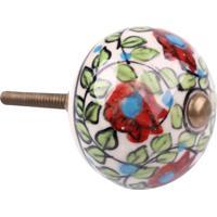 Puxador- Pashmina- Puxador Porta Ceramica - Kanui