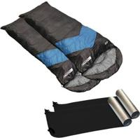 Kit 2 Sacos De Dormir Viper 2 Isolantes Térmicos Nautika - Unissex